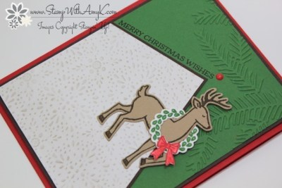 Santa's Sleigh 3 - Stamp With Amy K