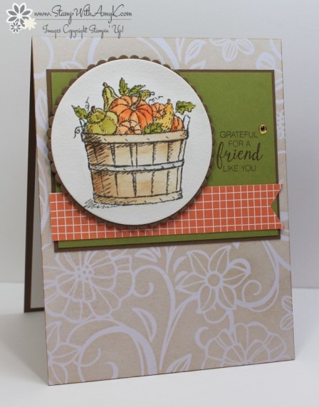Basket of Wishes - Stamp With Amy K