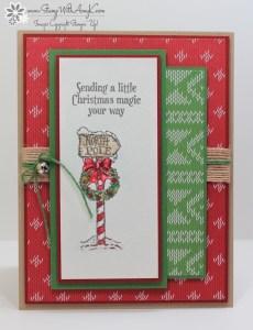 Christmas Magic 1 - Stamp With Amy K