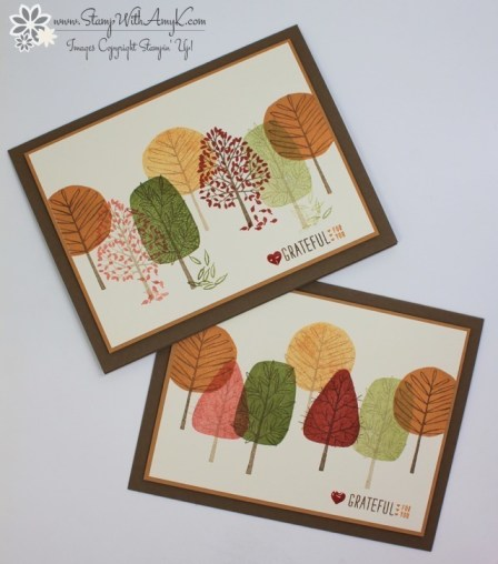 Totally Trees 3 - Stamp With Amy K