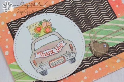 Wonderful Life - Stamp With Amy K