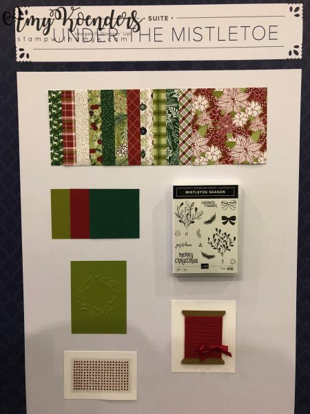 Stampin' Up! Under the Mistletoe - Stamp With Amy K