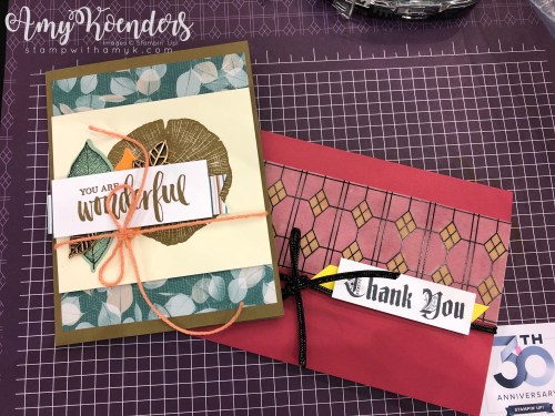 Stampin' Up! OnStage 2018 - Stamp With Amy K