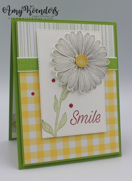 Stampin' Up! Daisy Lane Smile Card & 2019-20 Annual Catalog Sneak