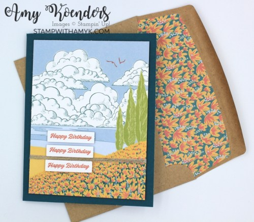Stampin' Up! March Paper Pumpkin Kit