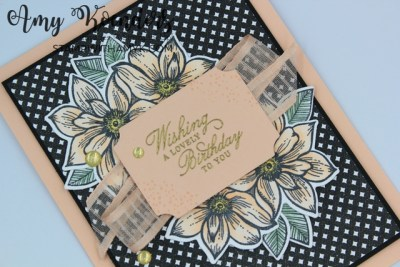 Stampin' Up! Delicate Petals Birthday Card
