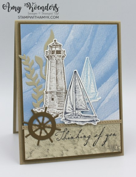 Stampin' Up! Sailing Home Sympathy Card
