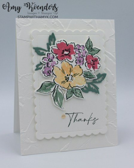 Stampin' Up! Hand-Penned Petals & New In Colors Sneak Peek