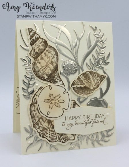 Stampin' Up! Friends Are Like Seashells Birthday Card