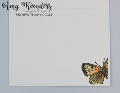 Stampin' Up! Butterfly Brilliance Follow Your Dreams Card