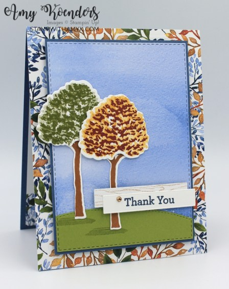Stampin' Up! Beauty Of Friendship Thank You Card