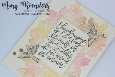 Stampin' Up! Beauty Of Tomorrow Fall Card