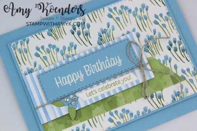 Stampin' Up! Sweet As A Peach Birthday Card