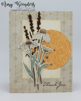Stampin' Up! Nature's Harvest Fall Thank You Card