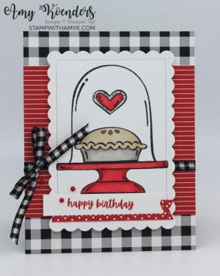 Stampin' Up! Sweets & Treats Birthday Card