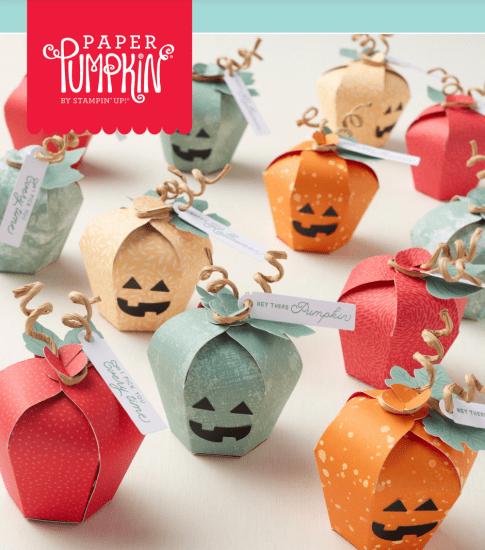 Stampin' Up! Haunts & Harvest September Paper Pumpkin Kit