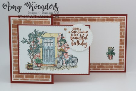 Stampin' Up! Feels Like Home Z-Fold Birthday Card