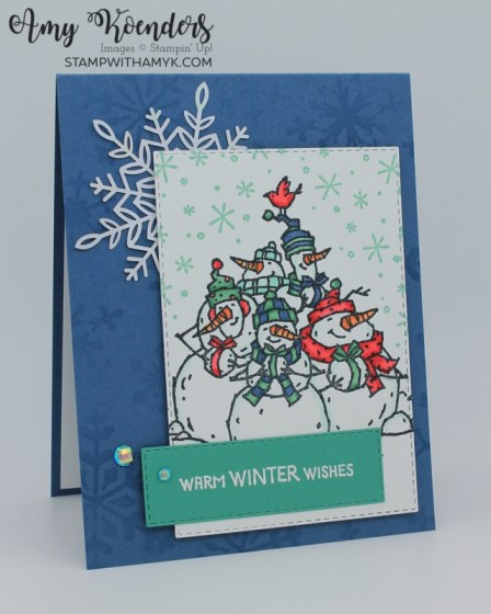 Stampin' Up! Snowbody Better Christmas Card