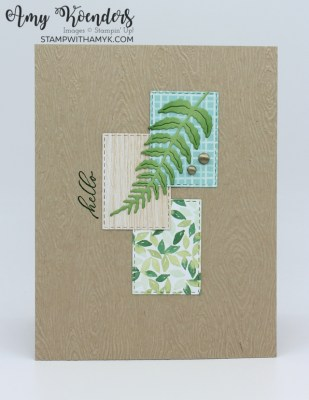 Stampin' Up! Timeless Tropical CAS Hello Card