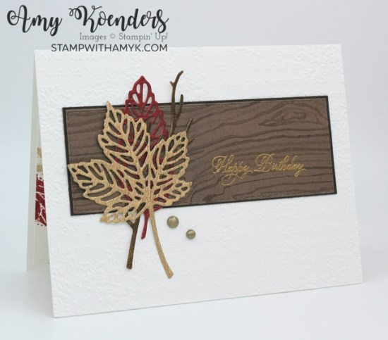Stampin' Up! Welcoming Woods Fall Birthday Card