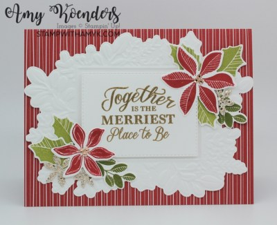 Stampin' Up! Merriest Moments Christmas Card