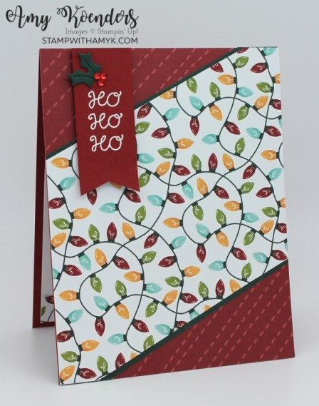 Stampin' Up! Little Delights Christmas Card