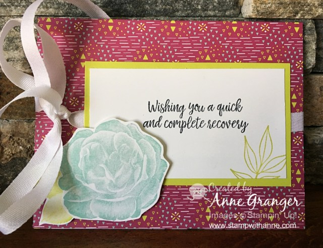 Sunday Facebook Live - Stamp With Anne
