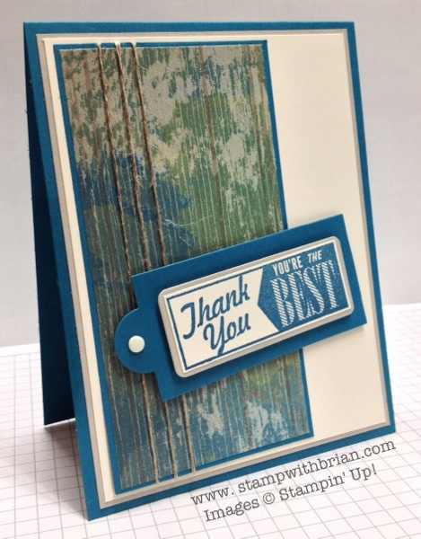 Hello Lovely, Stampin' Up!, Brian King