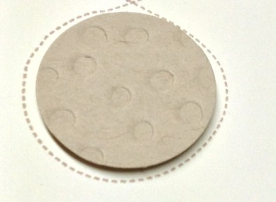 Inverted image from Decorative Dots TIEF to create a moon, Stampin' Up!, Brian King