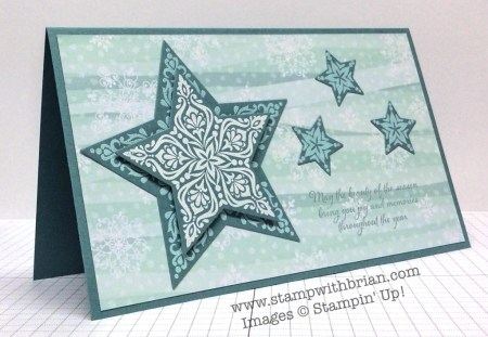 Bright & Beautiful, Beauty of the Season, Stampin' Up!, Brian King