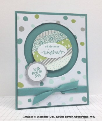 Holiday One-for-One Swap, Stampin' Up!, by Kevin Boyer