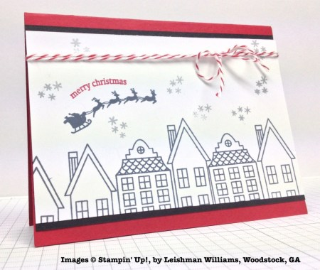 Holiday One-for-One Swap, Stampin' Up!, by Leishman Williams