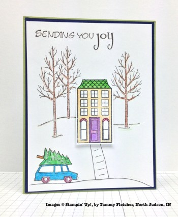 Holiday One-for-One Swaps, Stampin' Up!, by Tammy Fletcher