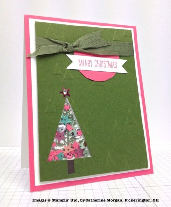 Holiday One-for-One Swap, Stampin' Up!, by Catherine Morgan