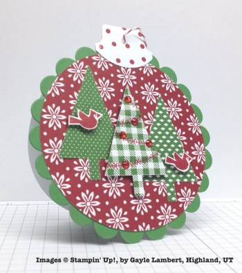 Holiday One-for-One Swap, Stampin' Up!, by Gayle Lambert