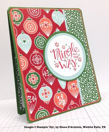 Holiday One-for-One Swap, Stampin' Up!, by Diana D'Arminio