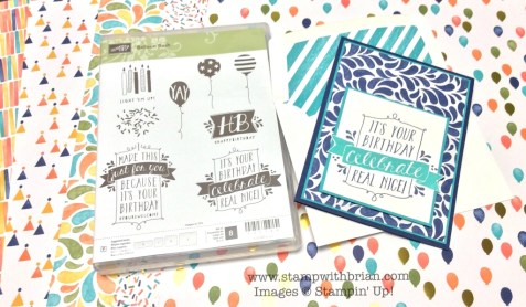 Balloon Bash, Stampin' Up!