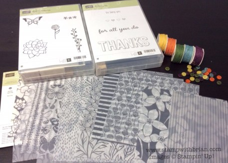 Four New Sale-a-Bration Items - March 2015, Stampin' Up!