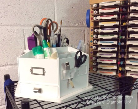 Punch and Ink Storage Ideas, Stampin' Up!, Brian King