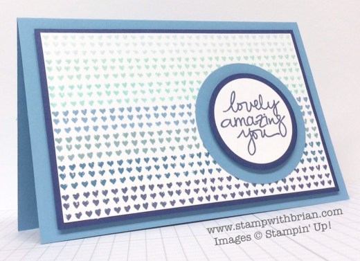Lovely Amazing You, Chalk Lines, Stampin' Up!, Brian King