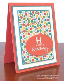 Endless Birthday Wishes, Project Life This is the Life, Cherry on Top Designer Series Paper, Stampin' Up!, Brian King