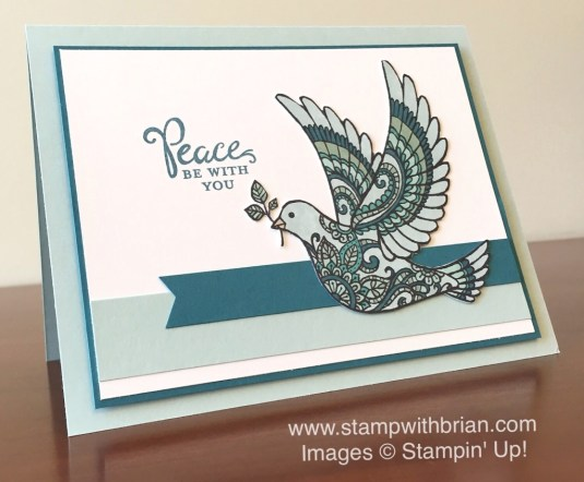 Dove of Peace, Reason for the Season, Stampin' Up!, Brian King, FMS199