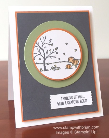 Happy Scenes, Stampin' Up!, Brian King