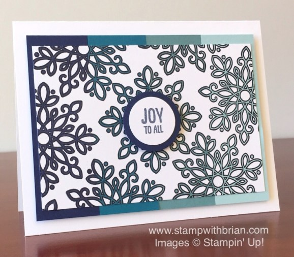 Flurry of Wishes, Festive Fireplace, Stampin' Up!, Brian King