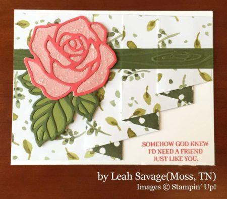 Leah Savage, Moss TN, Stampin' Up!, card swap