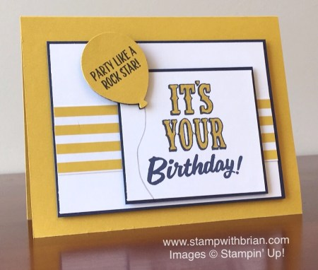Marquee Messages, Stampin' Up!, Brian King, FMS233, Sneak Peek