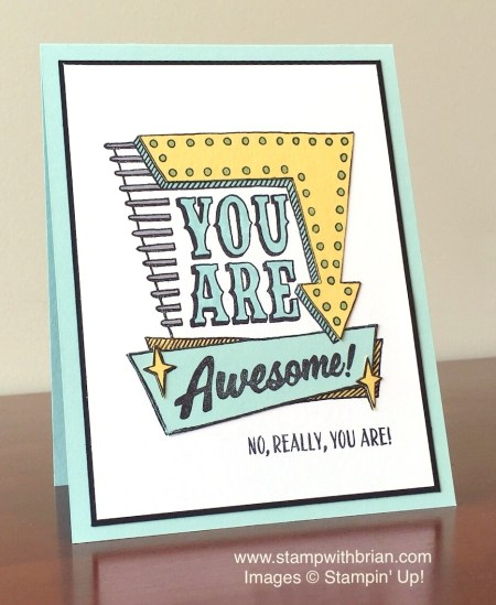 Marquee Messages, Stampin' Up!, Brian King, Sneak Peek