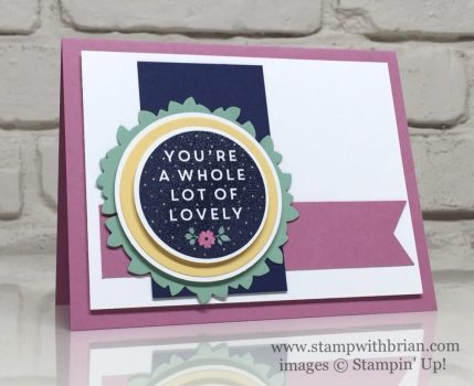 A Whole Lot of Lovely, Sweet Sugarplum, Stampin' Up!, Brian King, FabFri87, FMS236
