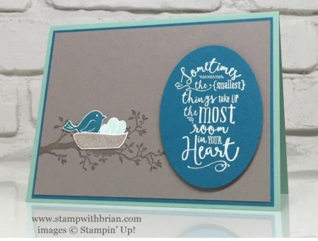 Swirly Bird, Layering Love, Stampin' Up!, Brian King, GDP037