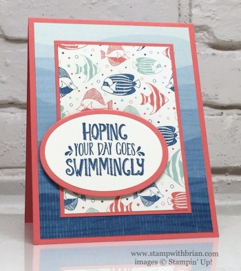 Seaside Shore, By the Shore Designer Series Paper, Stampin' Up!, Brian King, FMS243
